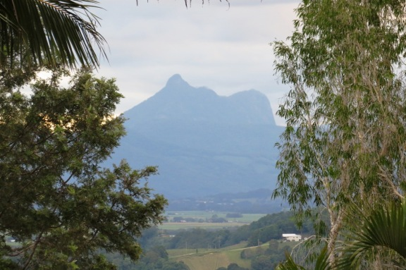 Mount Warning in all its glory.