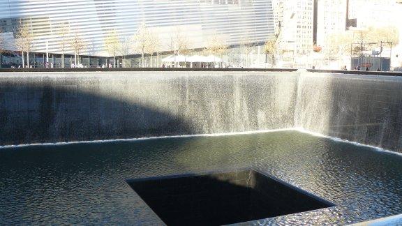 Memorials at Gound Zero.