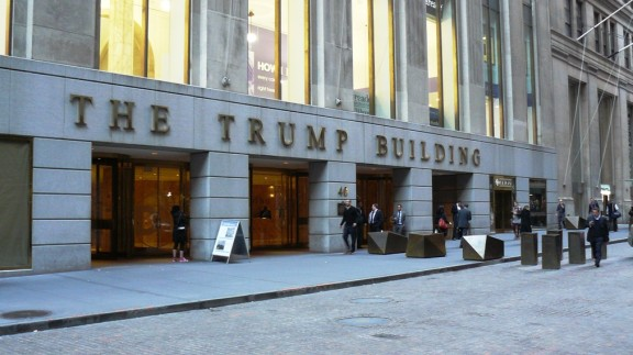 The Trump Building.