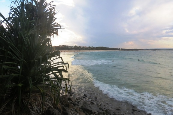 Late afternoon at Noosa Beach.