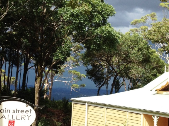 Stormy skies at Montville.