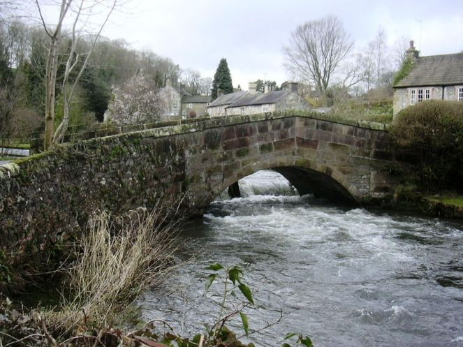 The old stone bridge at Alport in Derbyshire. One day I will walk on the ground that my ancestors walked on.  Photo credit ~ My dear friend, Keith Talbot.