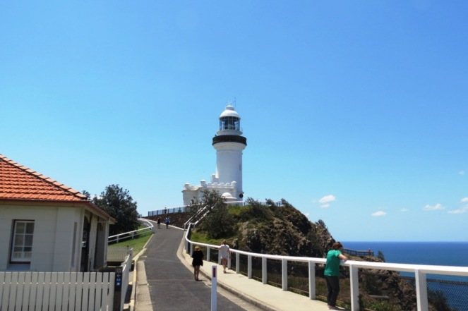 The Byron Bay Lighthouse.