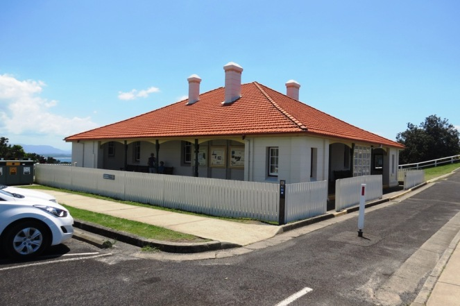 The old lighthouse keepers house, now a museum.
