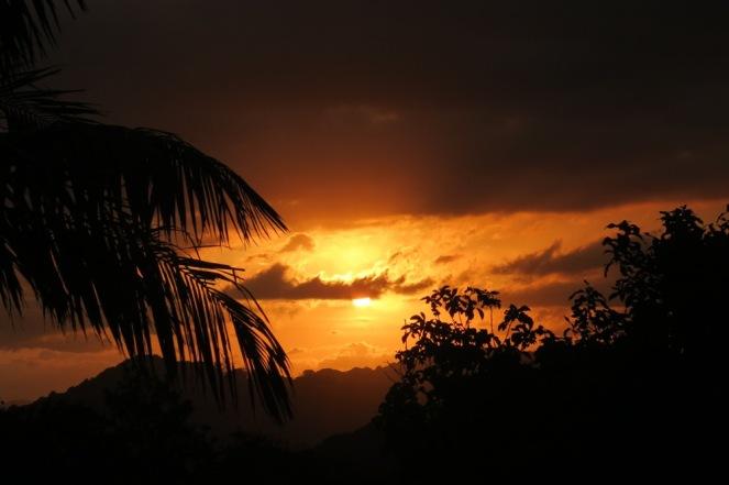 Wednesday's Sunset.