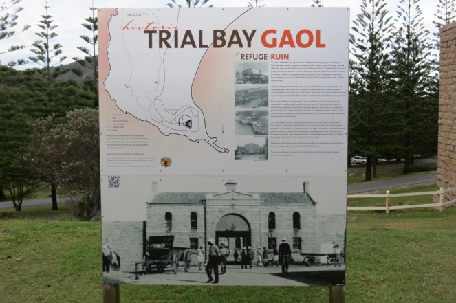 Way back, in the days of the open gaol.